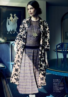 Elle Japan, October 2013 (+) photographer: Akinori Ito Cassi van den Dungen