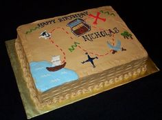 @Jackie Godbold swink  Pirate cake for me and Andrew!
