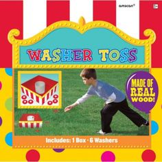 Washer Toss Game - Party City