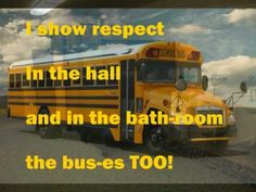 PBIS SONG with changed words and pictures