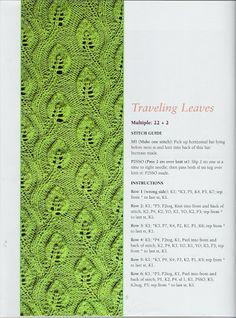 Punto dos agujas Knit stitch