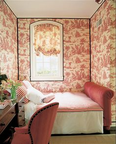 design bedroom, bedroom decor, guest bedrooms, toile, wallpapers, small bedroom, chicago, chinoiserie chic, bedroom designs