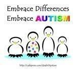 CDC reports that 1 in every 68 children are diagnosed with autism (Spring 2014).  Please join me in spreading awareness and acceptance.