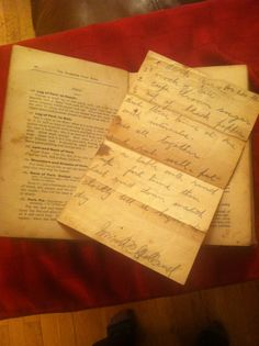 What's tucked inside your heirloom family cook book? Manuscript recipes, personal annotations & newspaper clippings tell us much about the book's owner at that time.