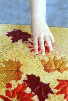 Fall Sensory Play for Kids
