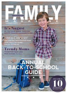 So proud of our August cover! Check it out on www.washingtonfamily.com !