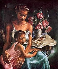 african american art   African American Art of Black Friends and Family