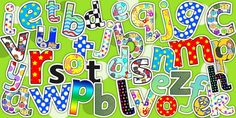 Display Lettering Variety Pack - display letter, classroom set