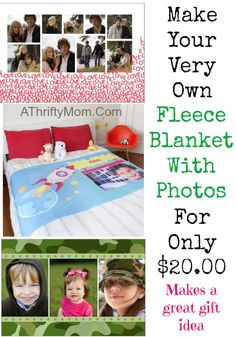 photo fleece blanket
