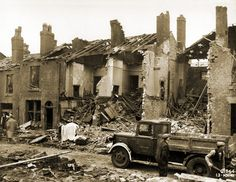 Bomb Damage on Punch Street 12-13 October 1941.  11 people were killed and 64 injured that night.  Bolton, Lancashire, England