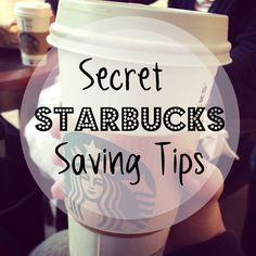 11 secret ways to save at Starbucks.