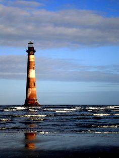 The Morris Island Lighthouse, Charleston SC
