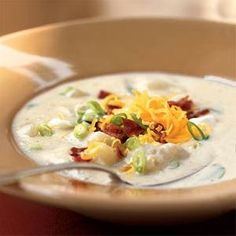 When there is a chill in the air and you just want to curl up under a blanket, sit down with a bowl of Creamy Potato Soup to Warm You Up. This easy potato soup recipe is hearty and delicious.