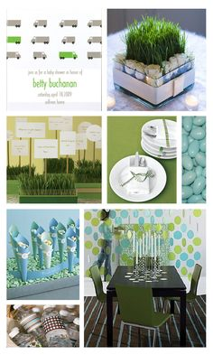 Baby Shower Ideas for Boys | Baby Boy Shower | The Party Dress