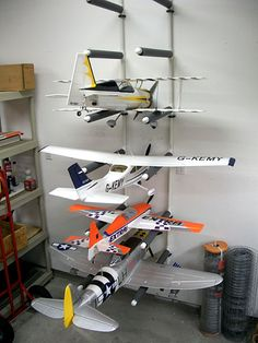 RC Airplane storage