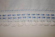 HOME MAKER: Crochet Edging on a Pillowcase