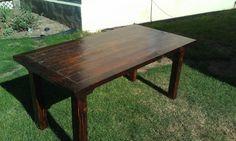 Rustic Barn Wood Table
