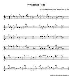 """""""Whispering Hope"""""""