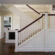The trim scheme at my stairs