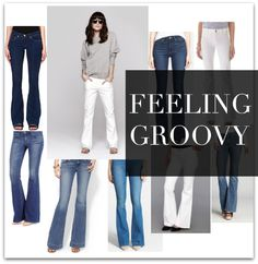 Bell Bottom Flare Jeans, yeah baby, they're looking so right again  #jeans #flares #bellbottom #whattowear