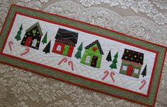 Holiday House Quilt - Pattern on Craftsy