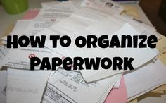 How to Organize Paperwork via @natlubrano on @Danielle Wagasky Domestic  Perfect Refresher for Tax Time - so glad I implemented my new system last year!