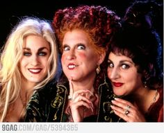 The witches are running amuck!  Amuck, amuck, amuck!! Love This Movie!