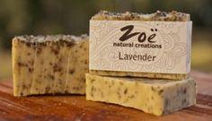 Lavender Bar Soap | Zoe Natural Creations {www.zoenaturalcreations.com} #Natural #organic #skincare #zoenaturalcreations #soap #body #beauty #health #ingredients