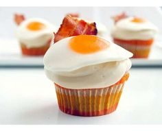 Bacon And Egg Savory Cupcakes Recipes — Dishmaps