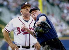 Bobby Cox at his finest. Love this man like he was grandpa. GO BRAVES!