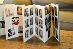 DIY instagram sticker photo book