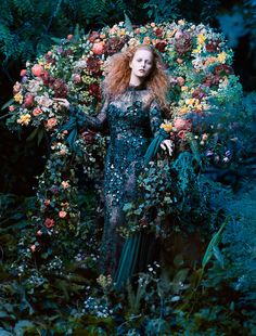 """Italian Amica ~ Pre-Raphaelite by Absynth Photo , via Behance"""
