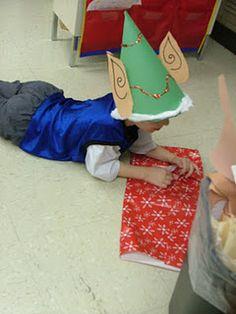 Love the elf hat idea!