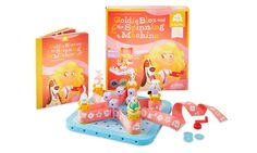 GoldieBlox building toys combine a story-driven theme that appeals to girls' strong verbal skills with the simple fun of building