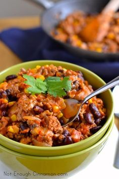 20-Minute Turkey Chili for a one-pot healthy meal.