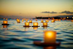 The Japanese lantern ceremony on Oahu each Memorial Day sets sail to more than 40,000 lanterns.