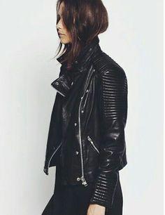 leather jacket #minimal #style