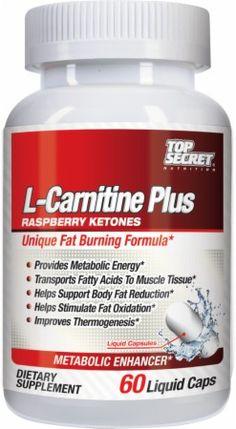L-Carnitine Plus Raspberry Ketones by Top Secret Nutrition