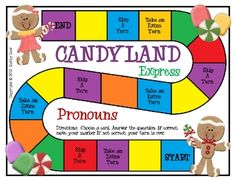 This is a great way to practice pronouns. In this game, students read sentences and choose which pronoun would replace a given noun. Repinned by SOS Inc. Resources @SOS Storage & Organisation Solutions Inc. Resources.