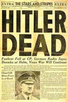 hitler dead