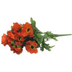 Orange Poppy Bush | Shop Hobby Lobby