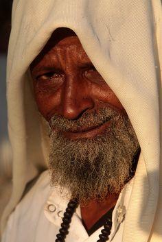 Somalia. Man portrait //  by Retlaw Snellac, via Flickr