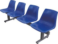 GANG CHAIR  Size: 530 mm x 2090 mm x 750 mm  Available No. of Seats: 4, 5, 6