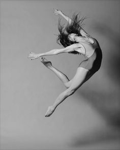 Dancer in flight.
