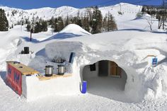 Stay in an igloo in Krvavec, Slovenia!