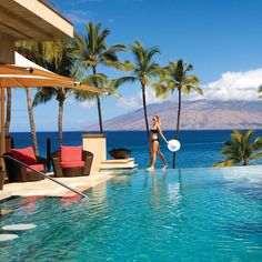 Brides.com: Hawaii's Hottest Hotels for Honeymooners. 1. Four Seasons Maui at Wailea. A-listers like Kate Bosworth and Jennifer Aniston love this Wailea beach beauty: Attendants deliver fresh pineapple, loaner Kindles, and traditional lomi lomi massages at the adults-only Serenity Pool. Rooms from $485; Four Seasons Maui at Wailea