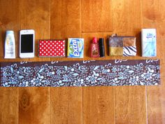 DIY Purse Organizer - easy way to switch between purses from now on