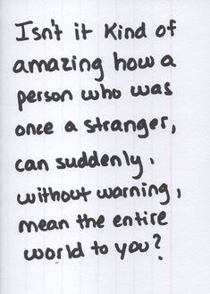<3 I think about this all the time