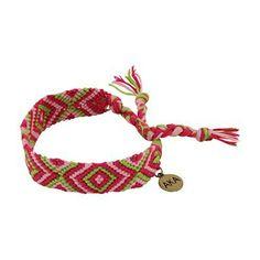 Alpha Kappa Alpha Friendship Bracelet $9.50 #Greek #Sorority #Accessories #Gifts #Jewelry #AlphaKappaAlpha #AKA #BackToSchool