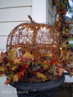 holiday, fall decor, autumn, pumpkin, fall porch, decor amor, front doors, light, halloween
